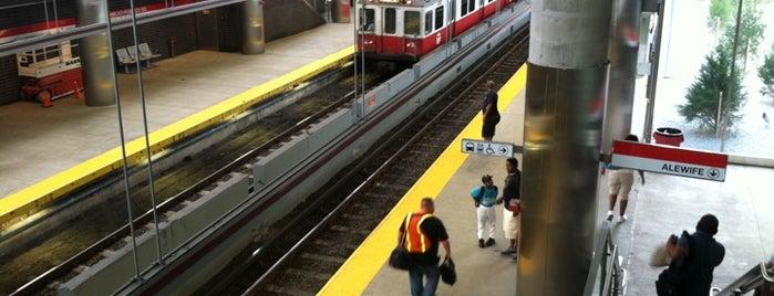 MBTA Ashmont/Peabody Square Station is one of Boston MBTA Stations.