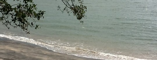 Pantai Pasir Hitam (Black Sand Beach) is one of ท่องเที่ยวที่ Langkawi, Kedah.
