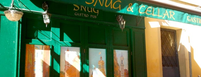 The Snug and Cellar is one of FR2DAY's Favourite Cafés & Bars on the Côte d'Azur.