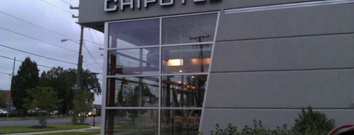Chipotle Mexican Grill is one of Delicious Food in Charlotte.