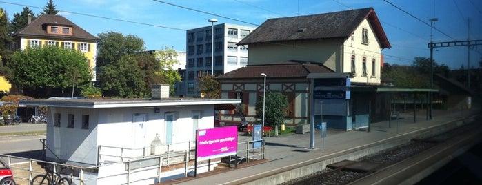 Bahnhof Wettingen is one of Bahnhöfe Top 200 Schweiz.