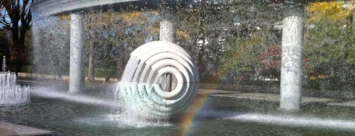 Wadakura Fountain Park is one of 公園.