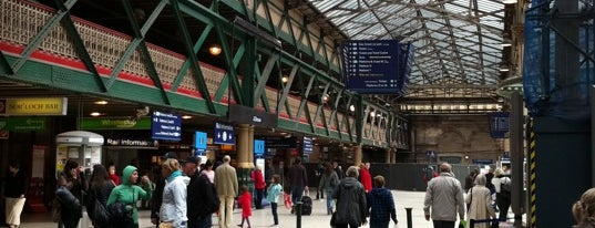 Edinburgh Waverley Railway Station (EDB) is one of Railway Stations in UK.