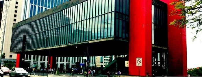 São Paulo Museum of Art is one of My Brazil.
