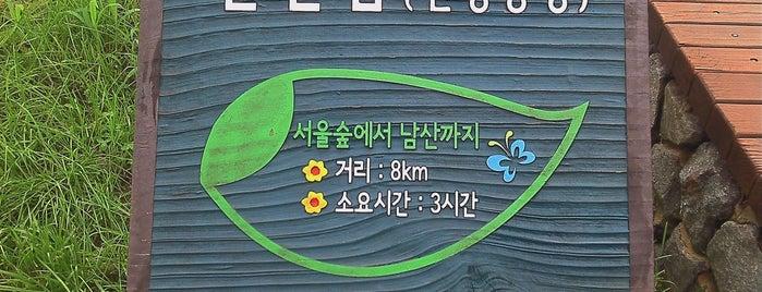 서울숲 (Seoul Forest) is one of Seoul City Badge - Lucky Seoul.