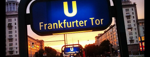 Frankfurter Tor is one of things to do in Berlin.