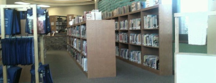 Prairie Trails Library is one of favorites.