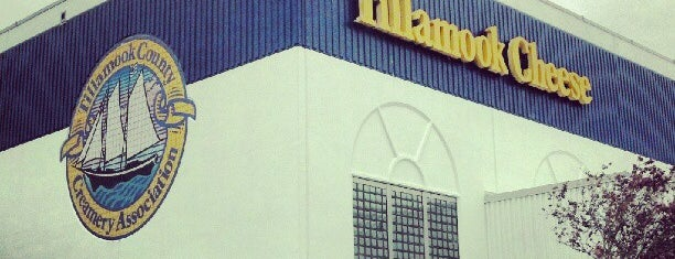 Tillamook Cheese Factory is one of Scenic Route: US West Coast.