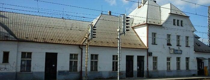 Železniční stanice Úvaly is one of Železniční stanice ČR: Š-U (12/14).