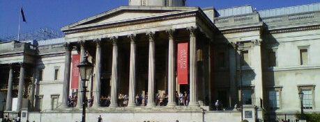 National Gallery is one of London as a local.
