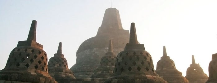 Candi Borobudur (Borobudur Temple) is one of The 7 WONDERS of The World.