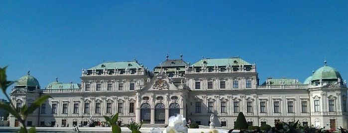Belvedere is one of Unsere TOP Empfehlungen für Wien.