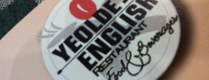 Yeolde English is one of Jalan Jalan Ipoh Eatery.