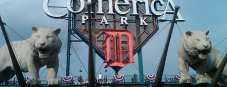Comerica Park is one of Detroit List #VisitUS.