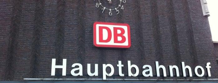 Duisburg Hauptbahnhof is one of Bahnhöfe DB.