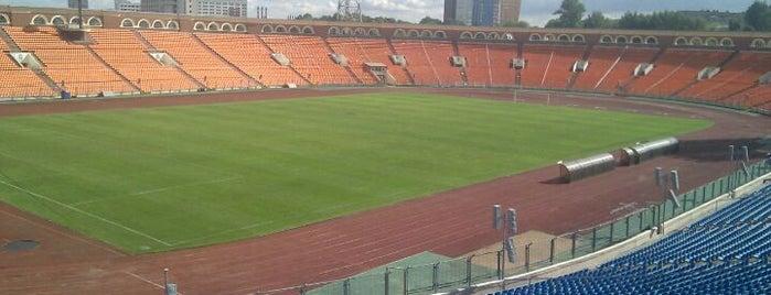 Стадион «Динамо» / Dinamo Stadium is one of Stadiums.