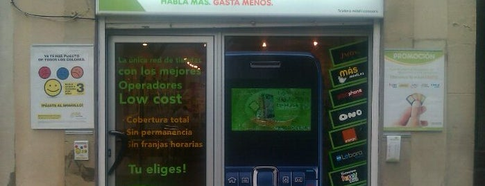Low cost movil is one of Barcelona.