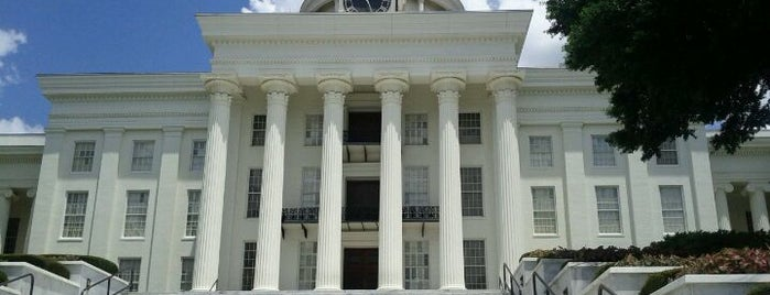 Alabama State Capitol Building is one of The Crowe Footsteps.
