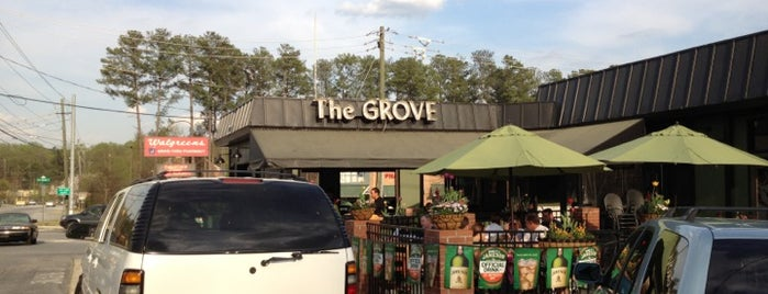 The Grove Restaurant & Tavern is one of Top 10 dinner spots in Atlanta, GA.