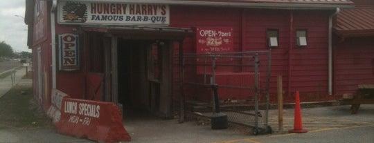 Hungry Harry's Famous BBQ is one of Creative Innovations Cause Related Advertising.