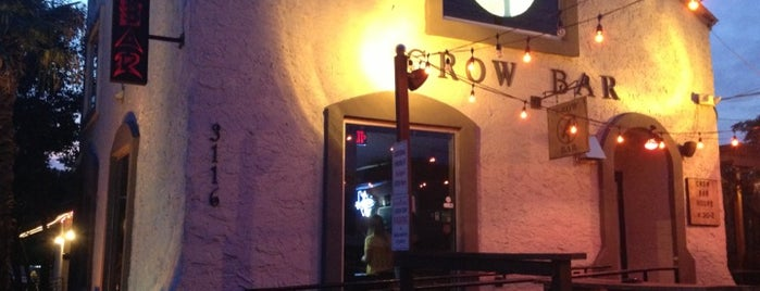 Crow Bar is one of Austin To-Do's.