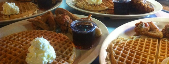 Roscoe's House of Chicken and Waffles is one of Places from the reporting trail.