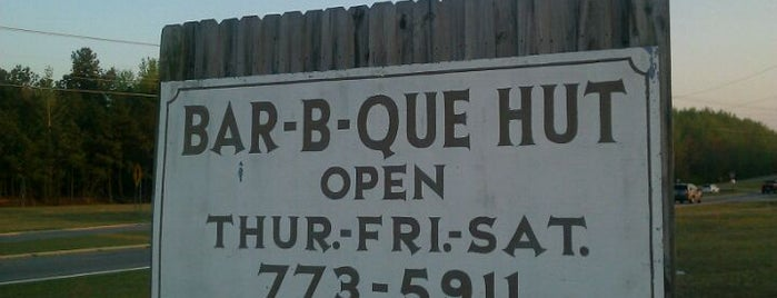 Bar-B-Q Hut is one of South Carolina Barbecue Trail - Part 1.