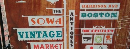 South End Open Market @ SoWa is one of BUcket List.