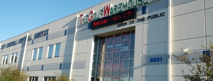 The Golf Warehouse is one of Personal.