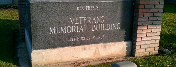 Clovis Veteran's Memorial Building is one of Historical sites to see.