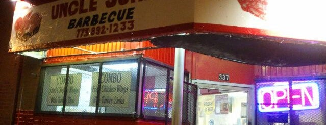Uncle John's Barbeque is one of Must Visit Restaurants in Chicago.