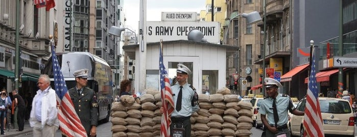 Checkpoint Charlie is one of things to do in Berlin.