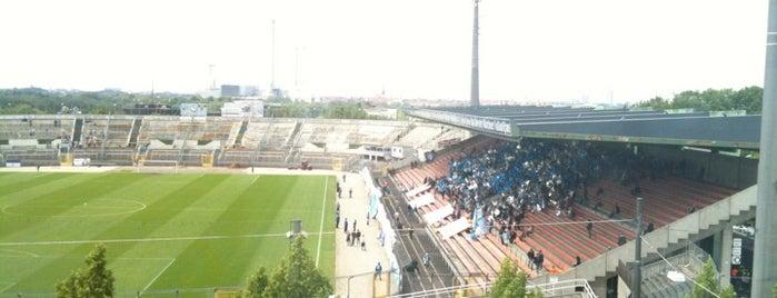Städtisches Stadion an der Grünwalder Straße is one of Stadiums.