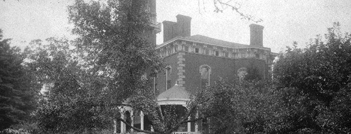 Promont House Museum is one of Surviving Historic Buildings in Cincinnati.