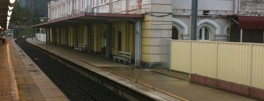 train stations of brisbane. Black Bedroom Furniture Sets. Home Design Ideas
