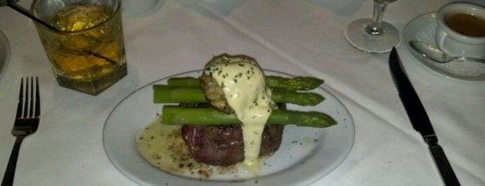 Ruth's Chris Steak House is one of 20 favorite restaurants in DFW.