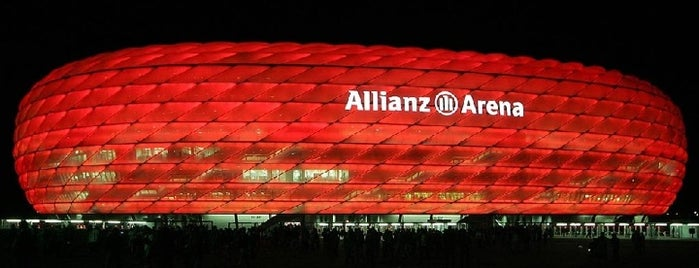 Allianz Arena is one of Munich Sights.