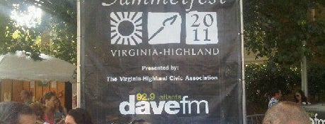 Virgina Highland Summerfest is one of Top 10 dinner spots in Atlanta, GA.