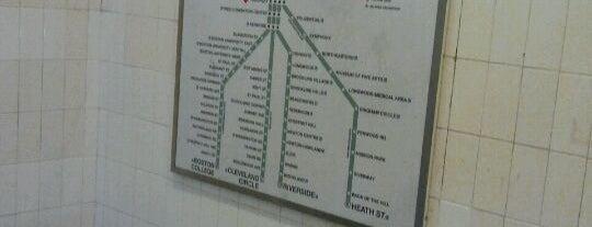 MBTA Copley Station is one of Boston MBTA Stations.