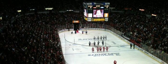 Joe Louis Arena is one of JYM Hockey Arenas TOP100.