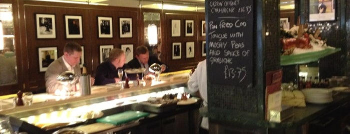J Sheekey Oyster Bar is one of London's West End.