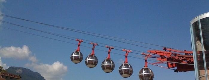 Téléphérique Grenoble Bastille is one of Top 10 favorites places in Grenoble, France.