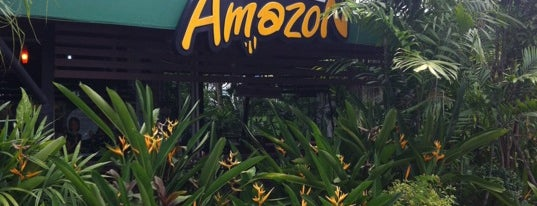 Café Amazon (คาเฟ่ อเมซอน) is one of Favorite Food.