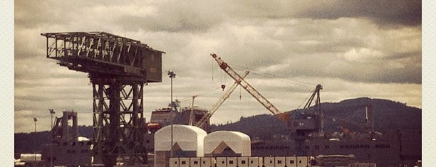 Puget Sound Naval Shipyard is one of Bremerton!.