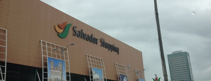 Salvador Shopping is one of Points de Salvador.