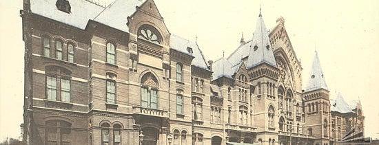 Cincinnati Music Hall is one of Surviving Historic Buildings in Cincinnati.