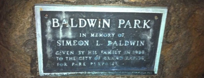 Baldwin Park is one of Parks/Outdoor Spaces in GR.