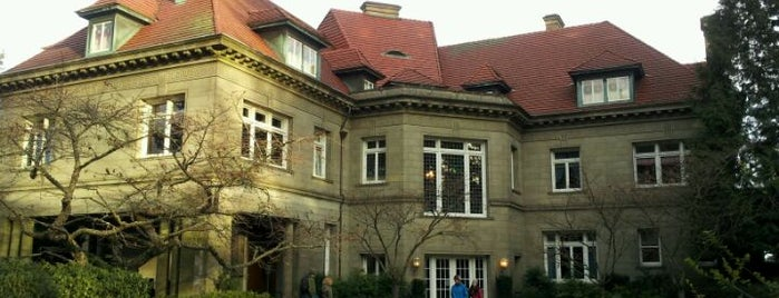 Pittock Mansion is one of Portland City Badge - Bridgetown.