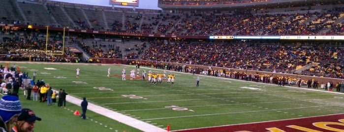 TCF Bank Stadium is one of Best Stadiums.