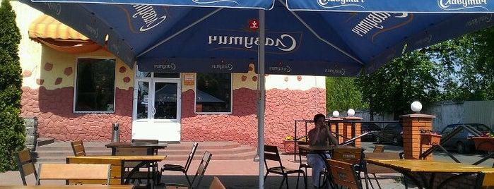 Грилиця / Grillitza is one of Cafe Kyiv (Kiev, Ukraine).